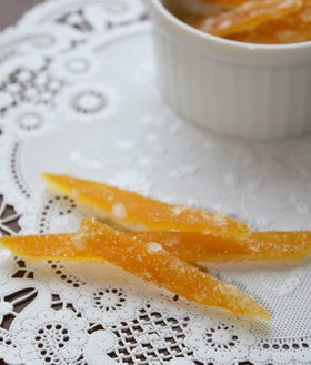 オレンジピール★低農薬・無農薬の柑橘で