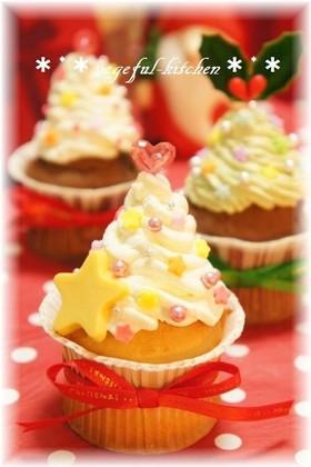 クリスマス☆ツリーの簡単クリスマスケーキ