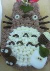 トトロのデコレーションケーキ