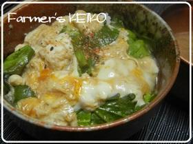 【農家のレシピ】玉子丼