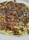 山芋と豆腐の鉄板焼き