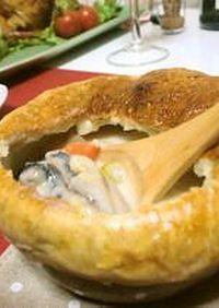牡蠣Deクリーミーチャウダー*
