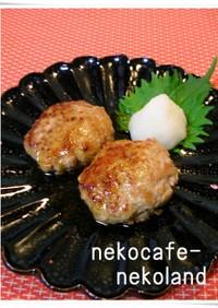 ヤーコンと豚ひき肉でシャキシャキバーグ☆