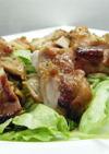鶏もも肉の山椒焼き