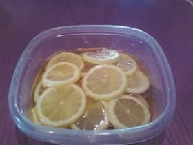 のど風邪、せき止めに!はちみつレモン