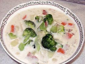 ぱぱっとホワイトクリームスープ