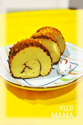 ◆豆腐とフライパン◆ヘルシー伊達巻◆