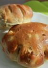 胡桃とオレンジのライ麦パン