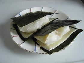 お餅☆№1☆チーズ&海苔