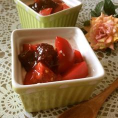 簡単^^トマトのスイーツ♡デザートサラダ
