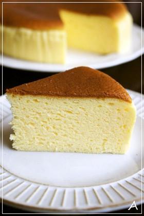 ふんわりシュワシュワスフレチーズケーキ