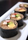 ✿蕎麦巻き寿司✿