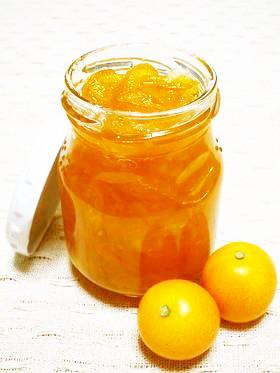 金柑をレンジで5分!金柑ジャム作り。