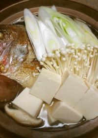 塩鯛のネギ豆腐☆