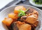 韓国風ぶり大根の煮物