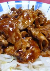 ✿もやしと一緒に♪豚肉の甜麺醤炒め✿