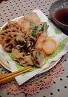 野菜の天ぷら〜天ぷら粉にひと加え〜
