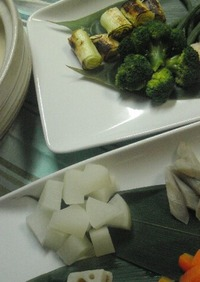 ♡味噌フォンデュ~根菜を食べつくす~♡