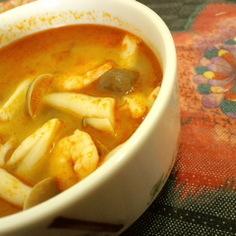 超簡単に、世界三大スープ☆トムヤムクン