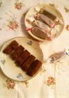 レンジで♪マーマレードチョコチーズケーキ