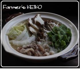 【農家のレシピ】豚肉のみぞれ鍋