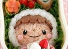 キャラ弁☆市販のシューマイでケーキ?!