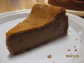 簡単 チョコチーズケーキ