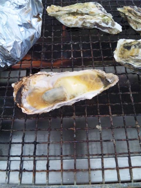 焼き牡蠣美味いッ!!