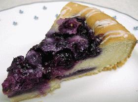 混ぜて焼くだけブルーベリーケーキ