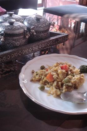 キチュリ:お腹に優しいインドのおかゆ