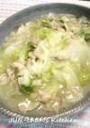 白菜と豚肉の蒸し煮*とろっとろ中華風