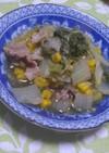 いつもの白菜の煮物にプラスだけ・・