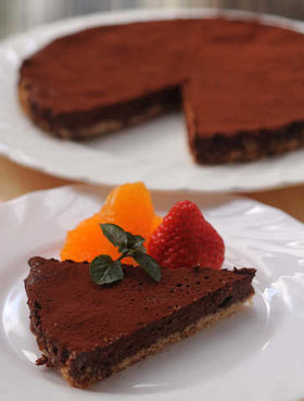 簡単!チョコレートタルト