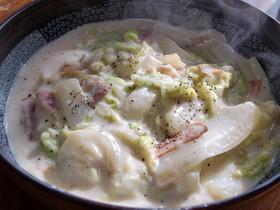 簡単 白菜ミルク煮