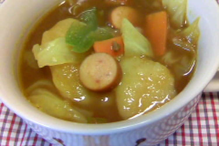 スープ カレー リメイク