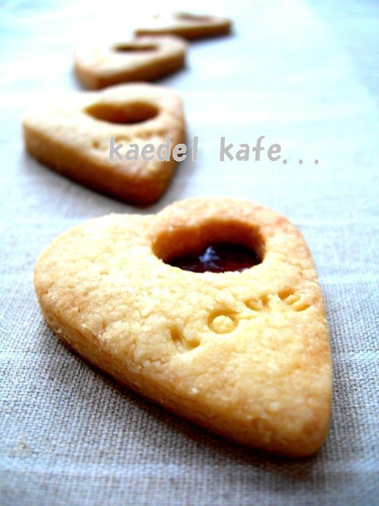 バレンタイン ni カラメルクッキー
