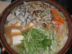 カキの味噌鍋