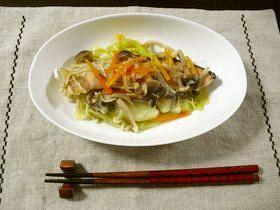 塩鮭と野菜のヘルシー蒸し