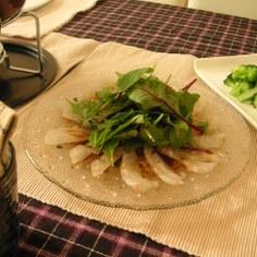 さっぱり!! 鯛のカルパッチョサラダ