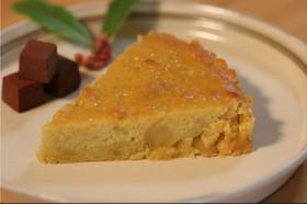 栗の甘露煮とサツマイモのケーキ