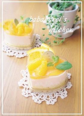 野菜ジュースで☆簡単ムースケーキ