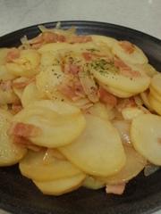 ポテト炒めの写真