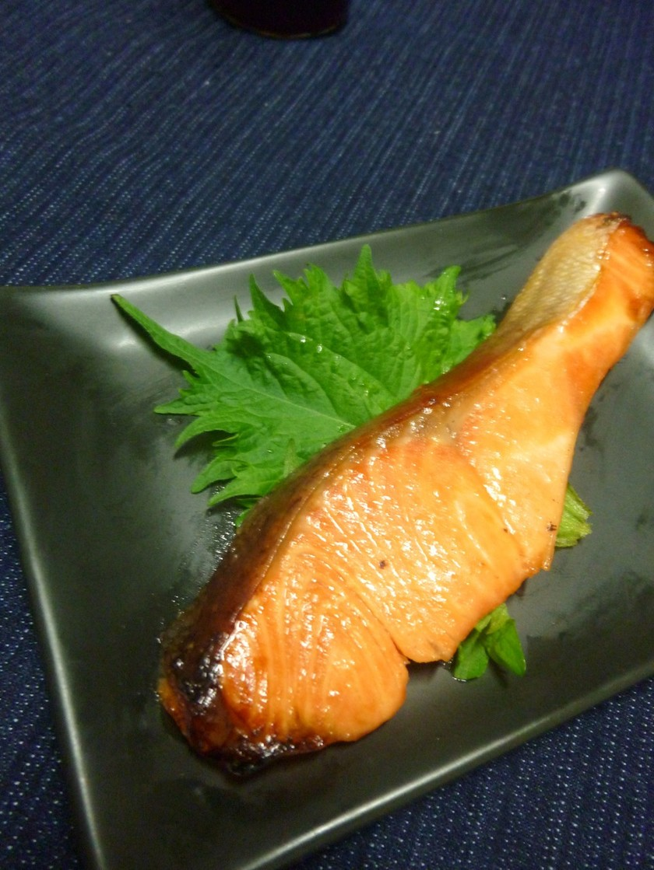 鮭の青じそ風味・味噌漬け焼き
