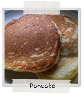 ホシノ天然酵母でパンケーキ
