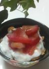 ☆簡単美味しいリンゴパフェ☆
