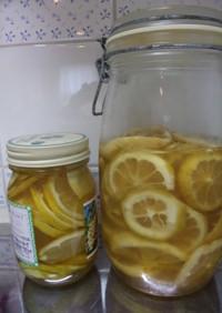 蜂蜜のレモン漬け(長期保存可能)