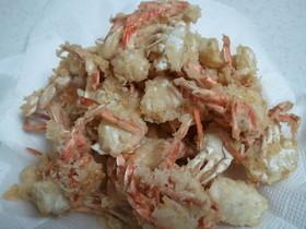 沢蟹の天ぷら