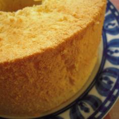 シフォンケーキ(全卵使用)