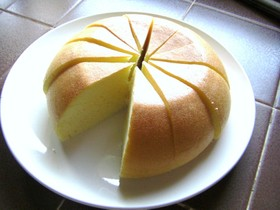 炊飯器でふわふわ♪シフォンケーキ☆