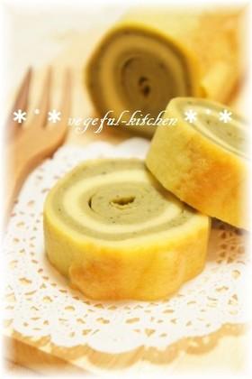敬老の日に米粉と豆腐の和風バームクーヘン